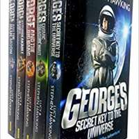Lucy and Stephen Hawking George Series Collection Set of 4 Books