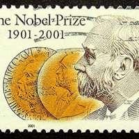 Alfred Nobel Postage Stamp