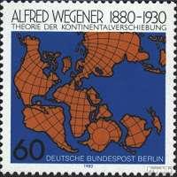 Alfred Wegener Stamp
