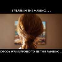 Nobody was supposed to see this painting...
