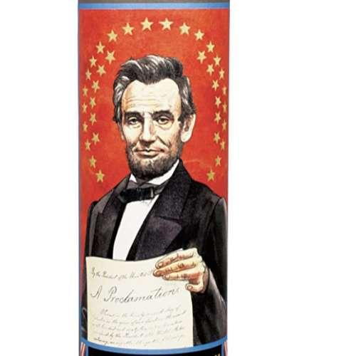 Abraham Lincoln Secular Saint Candle