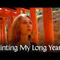 Painting My Long Year - Flow of Time   Akiane Kramarik