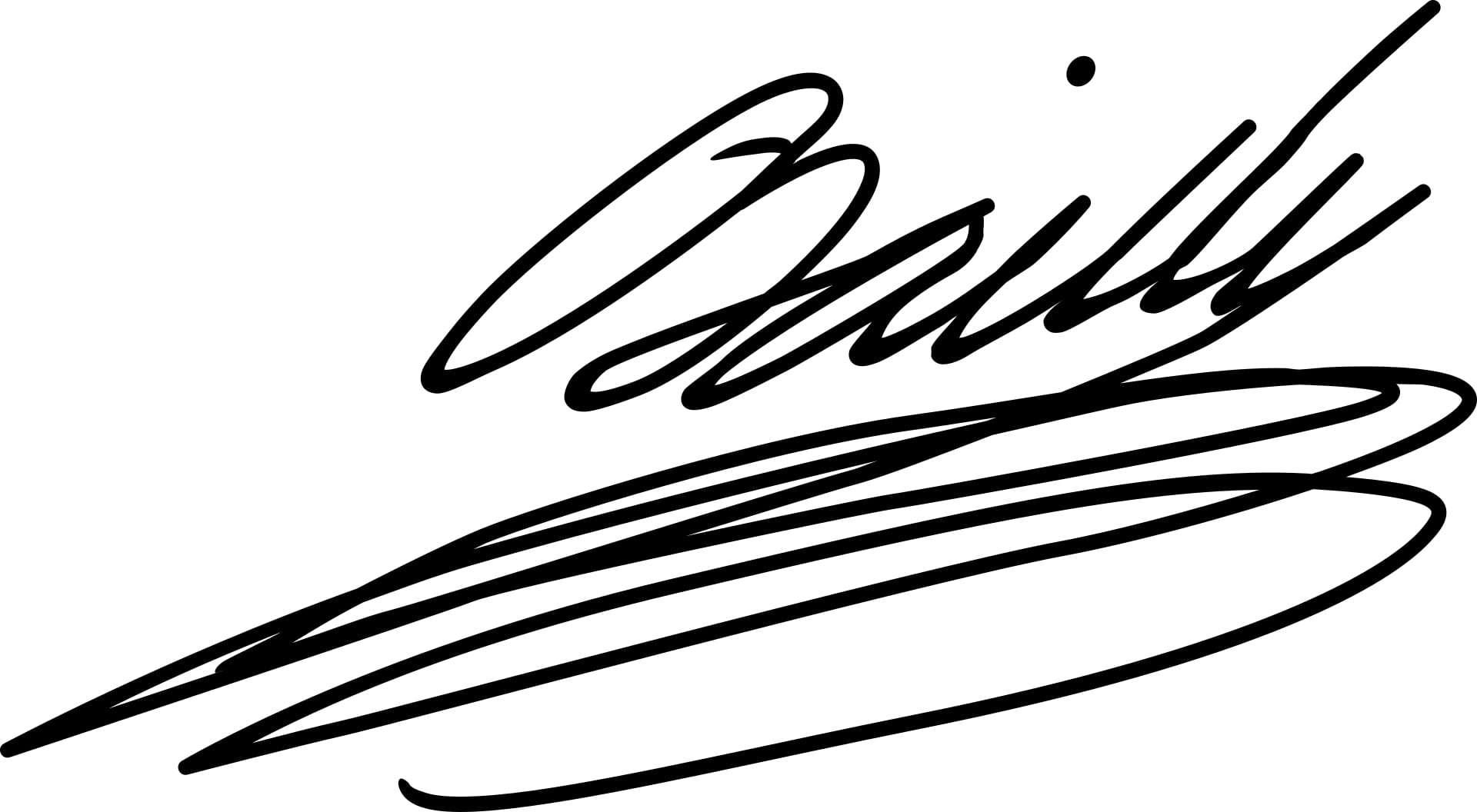 Jean Sylvain Bailly Signature