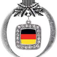 Germany Flag Charm Ornament
