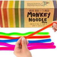 5-Pack of Monkey Noodle Toys