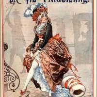 1925 La Vie Parisienne Poster Print