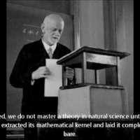 David Hilbert's radio address