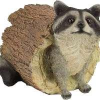 Bandit the Raccoon Garden Animal Statue