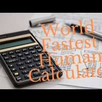 Humans that can calculate faster than Calculator
