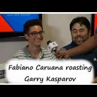 Fabiano Caruana trash-talking against Garry Kasparov