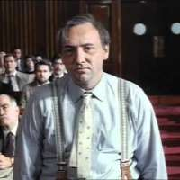 Kevin Spacey portraying Clarence Darrow. Closing speech in the Leopold & Loeb trial